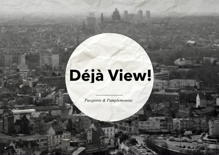 de ja VIEWS over Brussels by Passports and Pamplemousse