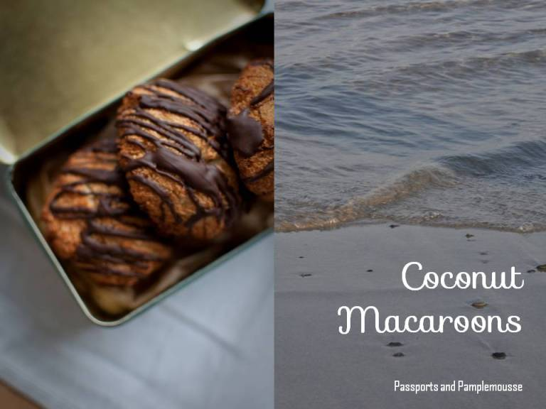 coconut macaroons passports and pamplemousse