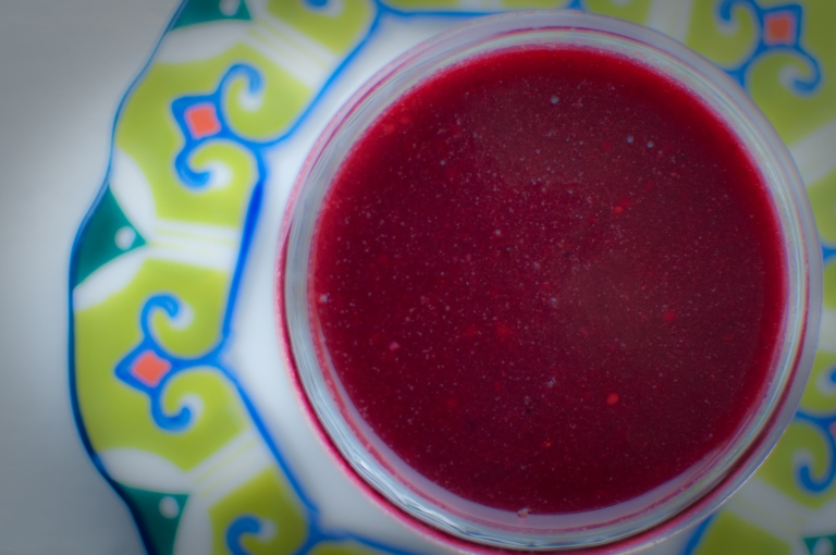 Passports and Pamplemousse Healthy Cranberry Sauce