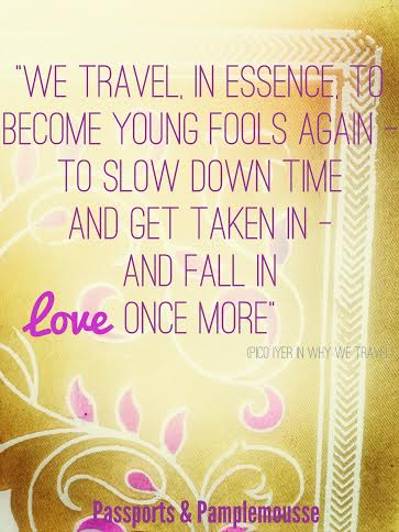 love to travel - Passports and Pamplemousse