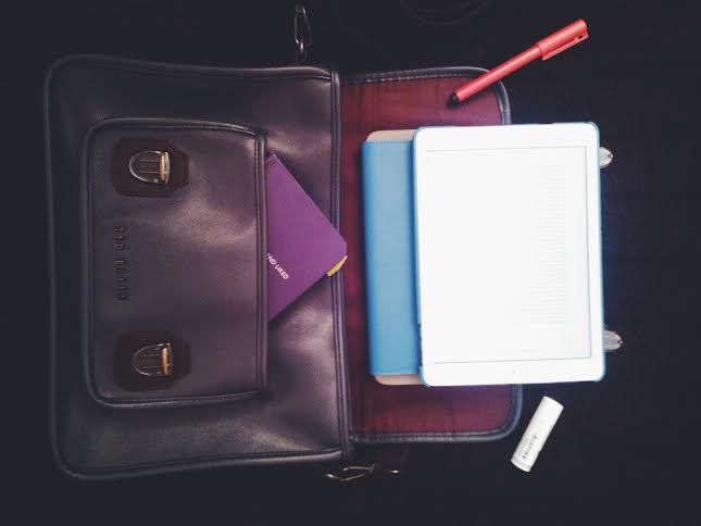 What's in your bag? (c) Sebastian May