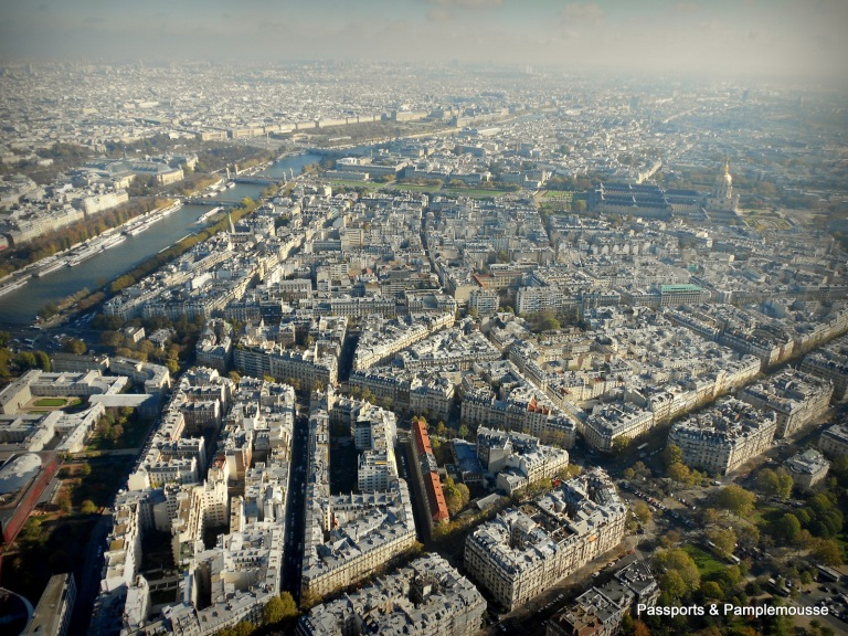 Passports and Pamplemousse in Paris