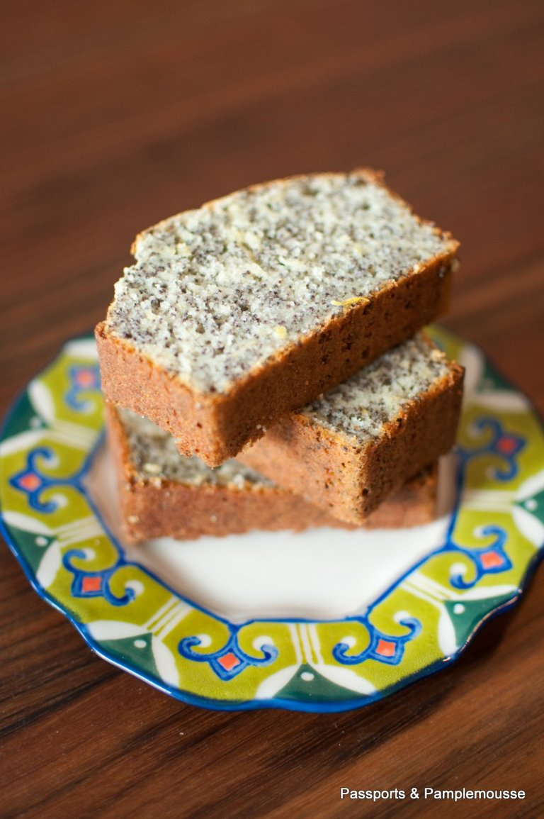 Lemon Poppyseed Yogurt Cake Passports and Pamplemousse